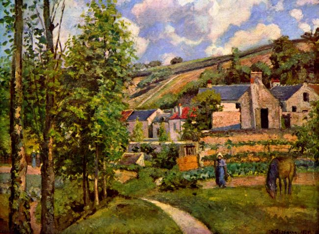 the hermitage at pontoise 1874