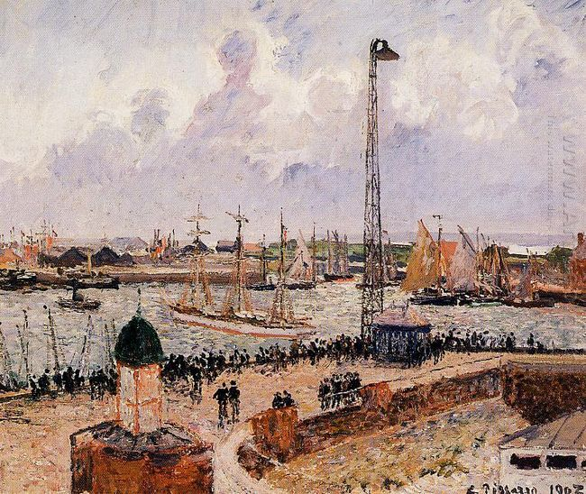 the inner harbor havre 1903