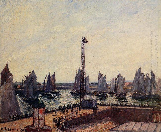 the inner port and pilots jetty havre 1903