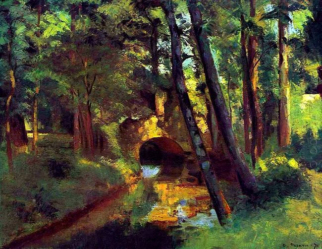 the little bridge pontoise 1875 1