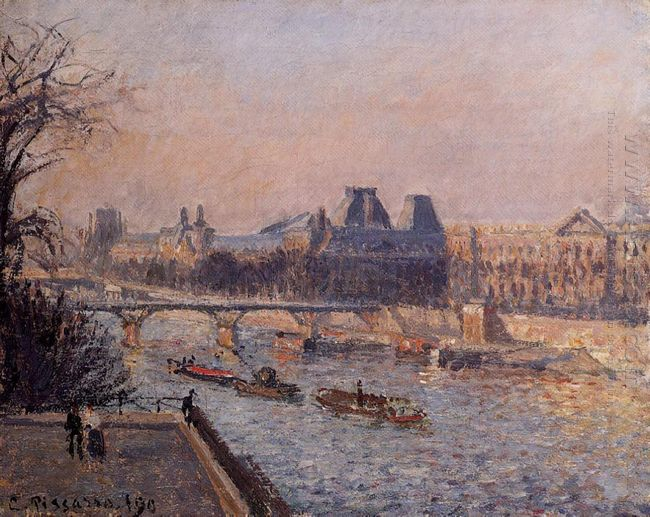 the louvre afternoon 1902