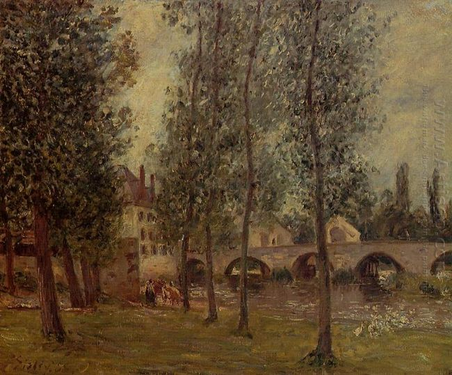 the moret bridge 1888