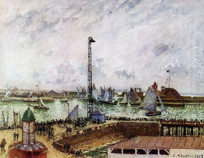 the pilot s jetty le havre 1903