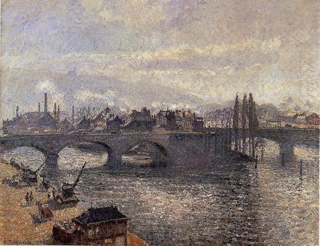 the pont corneille rouen morning effect 1896