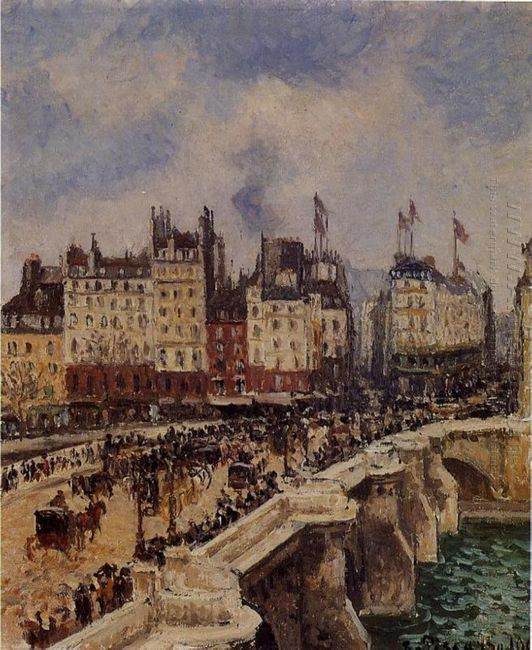 the pont neuf 1901 1