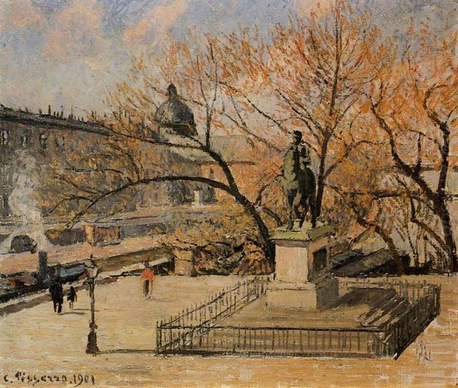 the pont neuf 1901