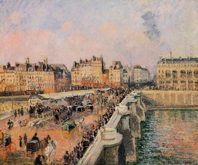 the pont neuf afternoon 1901