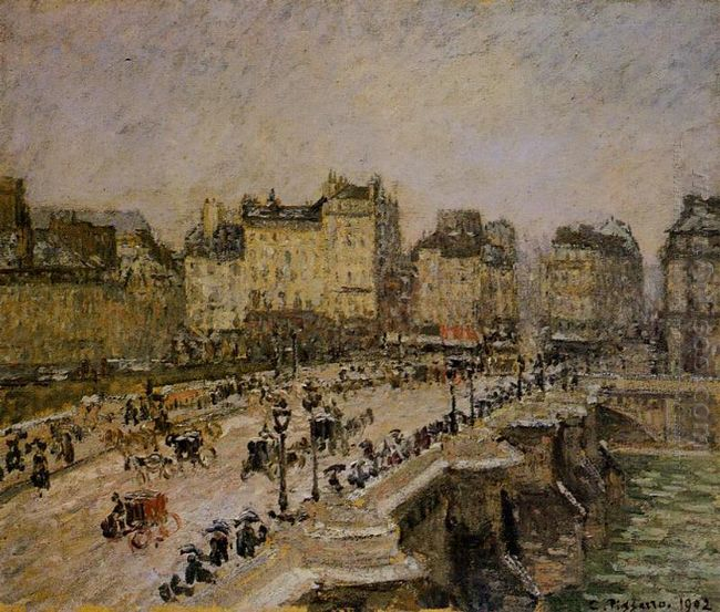the pont neuf snow 1902