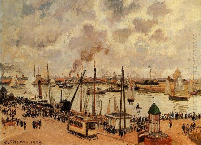 the port of le havre 1903