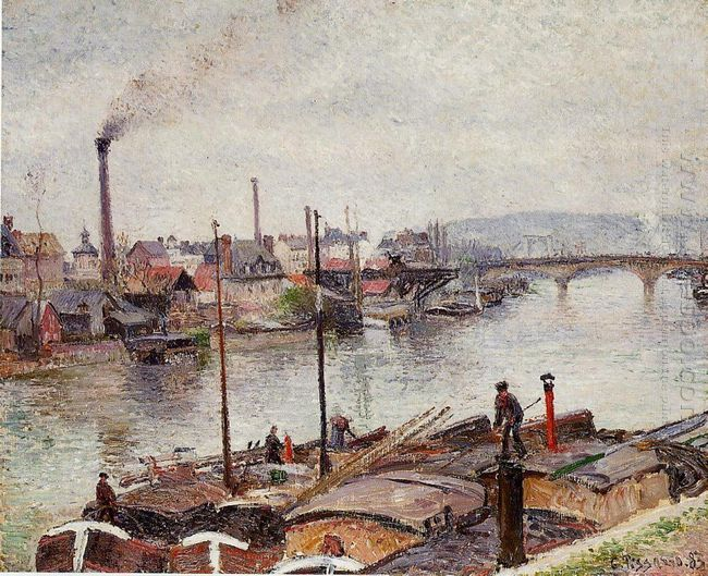 the port of rouen 2 1883