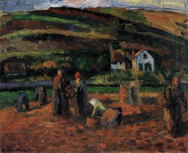 the potato harvest 1874