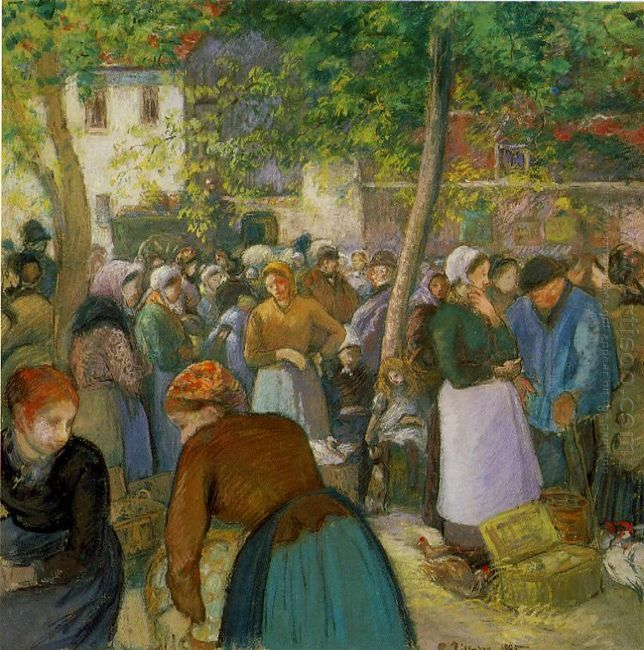 the poultry market 1885