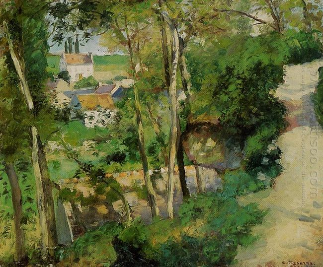 the rising path pontoise 1875