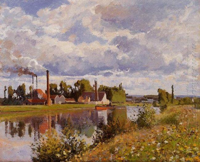 the river oise near pontoise 1873