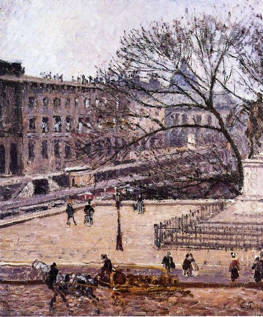 the treasury and the academy gray weather 1903