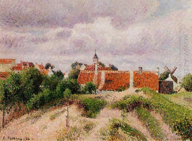 the village of knocke belgium 1894