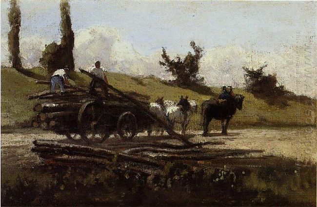 the wood cart