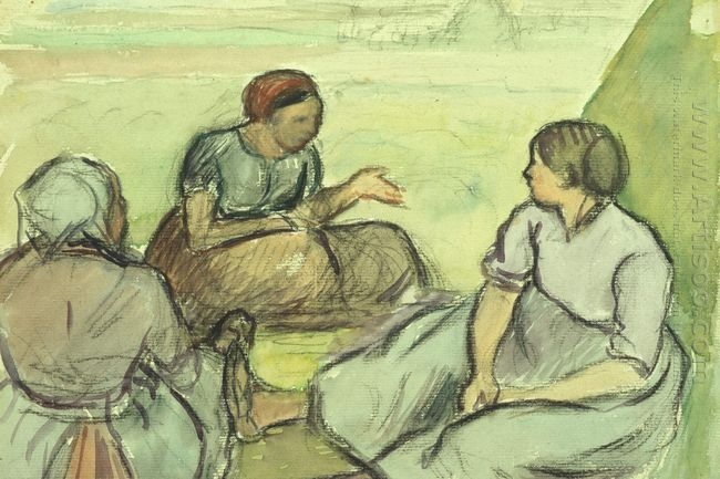 three peasant women 1890