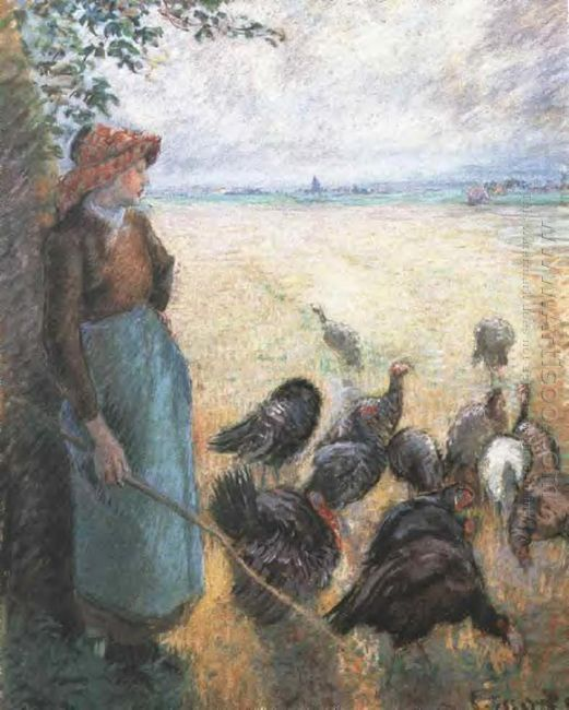 turkey girl 1884
