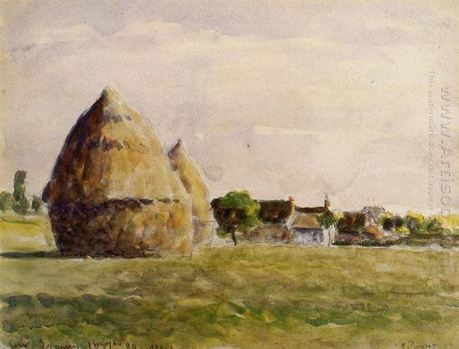 twilight eragny 1889