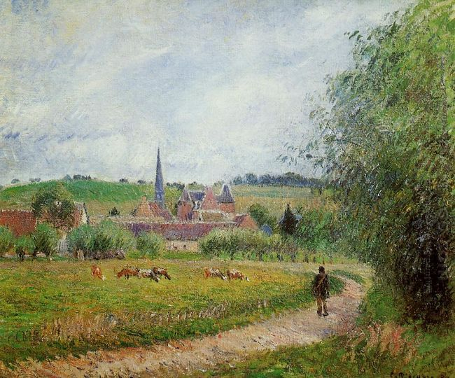 view of eragny 1884