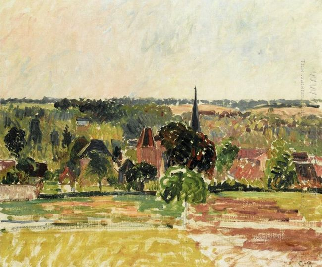 view of eragny 1895