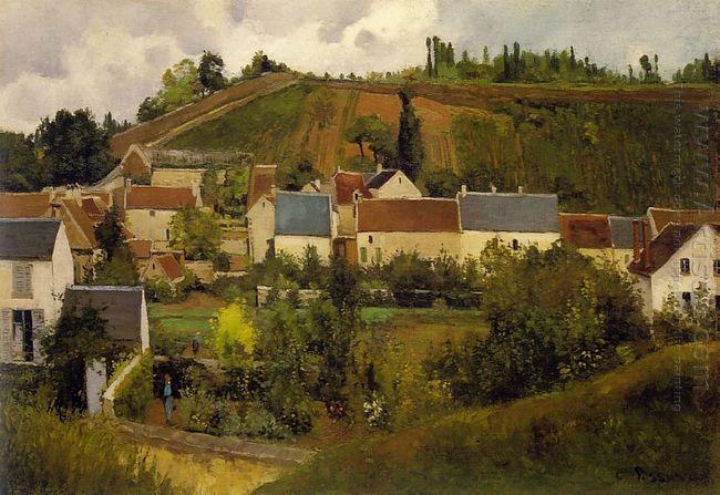 view of l hermitage jallais hills pontoise