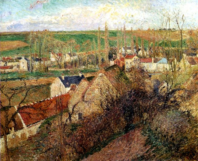 view of osny near pontoise 1883
