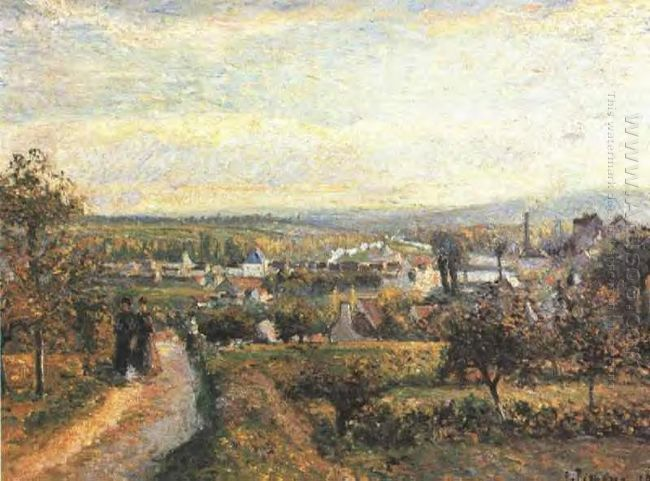 view of saint ouen l aumone 1876