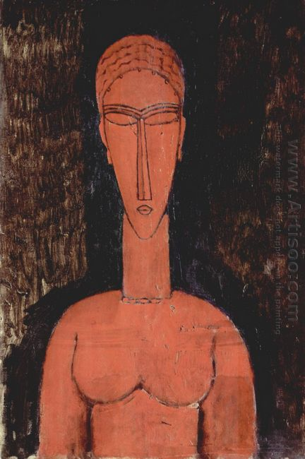 a red bust 1913