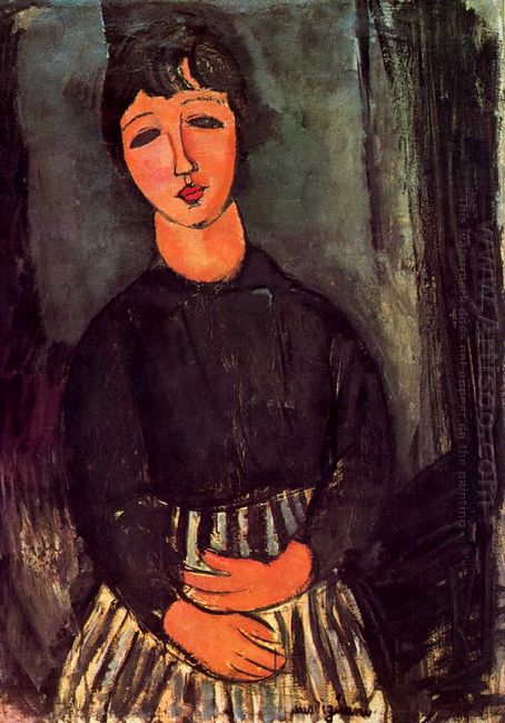 a young girl 1916