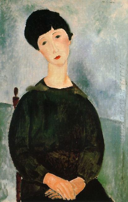 a young girl 1918