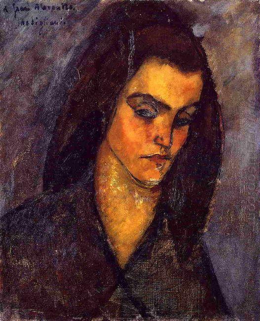 beggar woman 1909