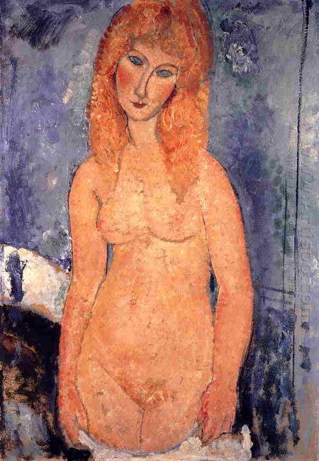 blonde nude 1917