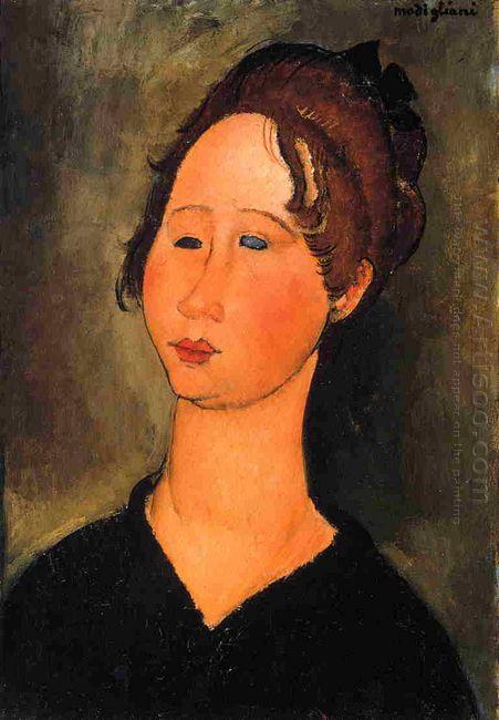 burgundian woman 1918
