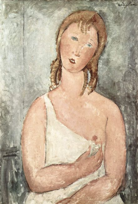 girl in the shirt red haired girl 1918