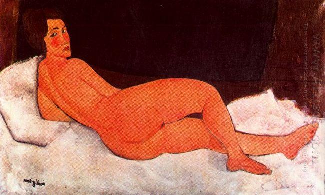 lying nude 1917