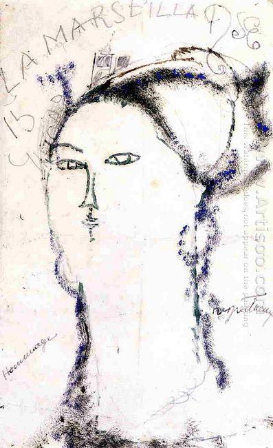 madame othon friesz la marseillaise 1915
