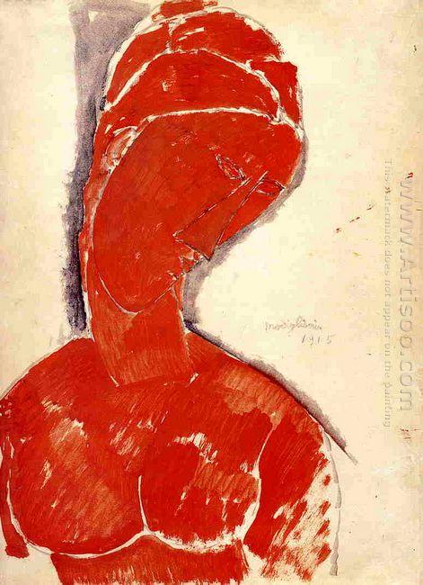 nude bust 1915