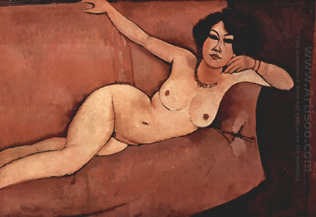 nude on sofa almaisa 1916