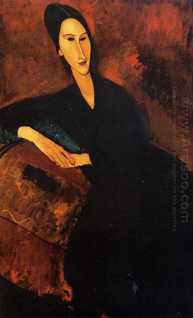 portrait of anna zborowska 1917