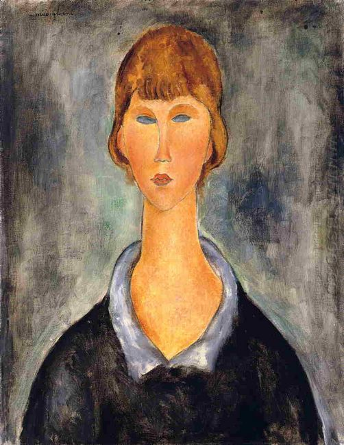 portrait of a young woman 1919