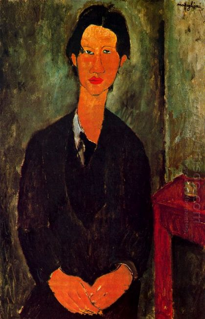 portrait of chaim soutine 1917