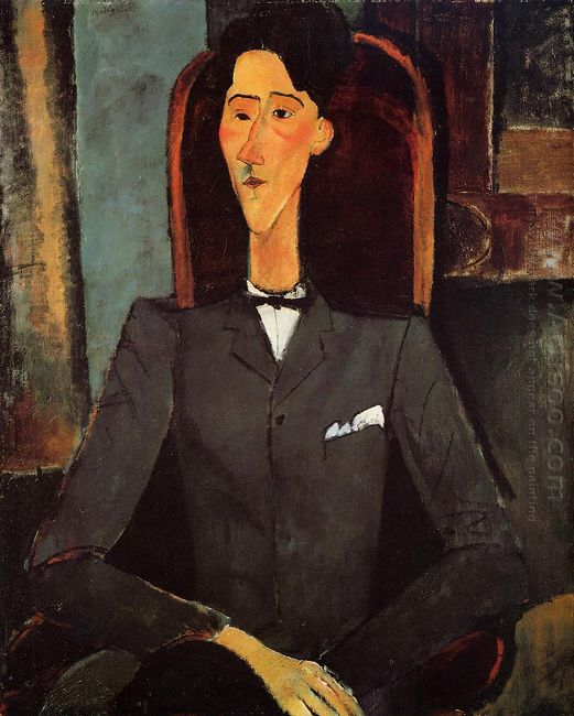 portrait of jean cocteau 1917