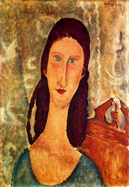 portrait of jeanne hebuterne 1919 1