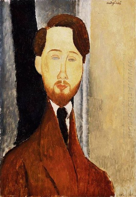 portrait of leopold zborowski 1919