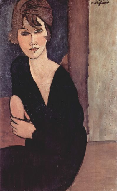 portrait of madame reynouard 1916