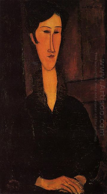 portrait of madame zborowska 1917