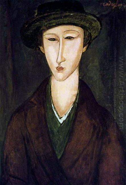 portrait of marevna 1919