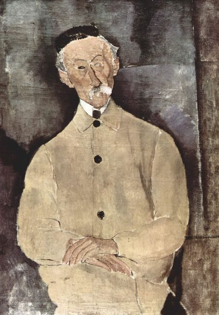 portrait of monsieur lepoutre 1916